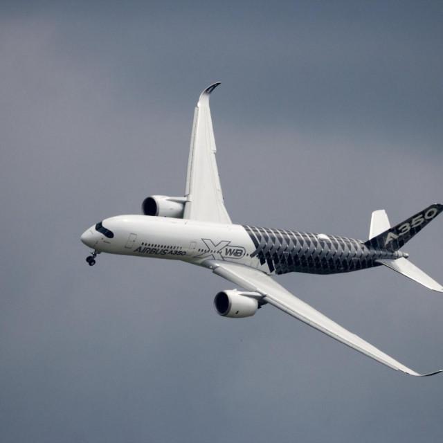 Airbus A350, ilustracija