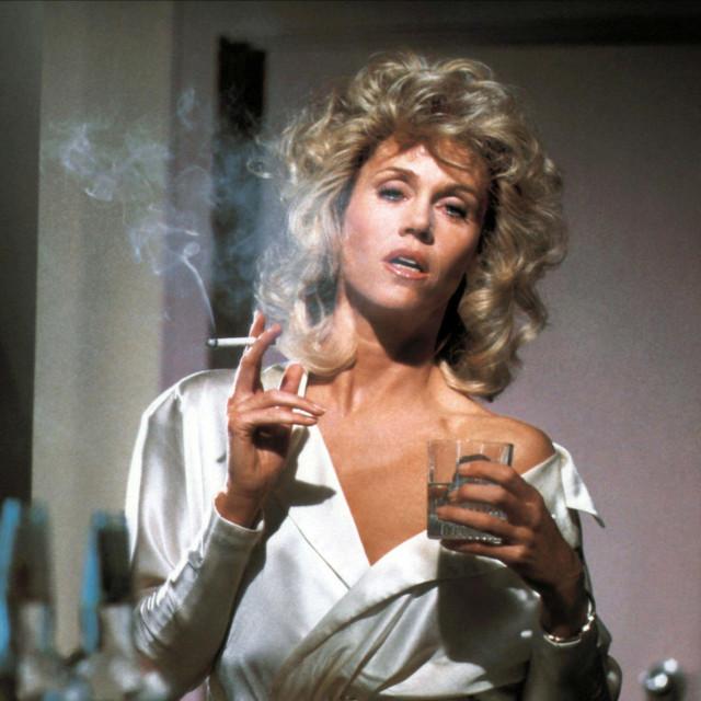 "Jane Fonda u filmu ""The morning after"" iz 1986."