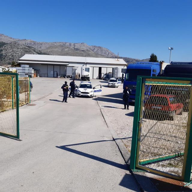 Policijska akcija u Opuzenu<br />