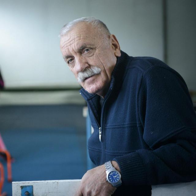 Atletski trener i nekadašnji atletičar Joško Alebić