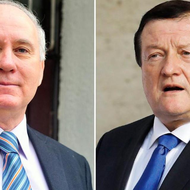 Ante Čović i Damir Boras