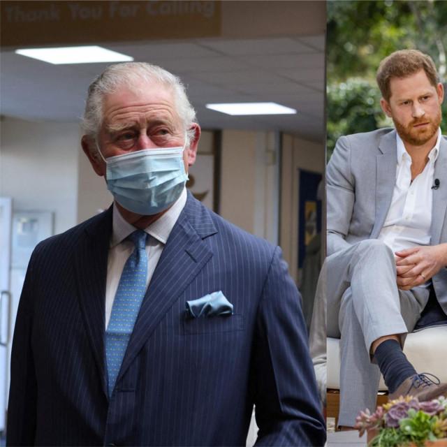 Princ Charles, Meghan i princ Harry