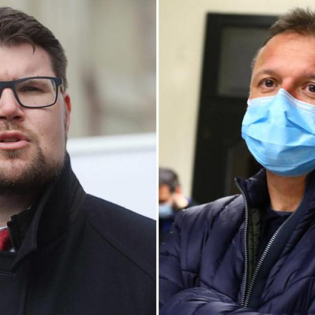 Peđa Grbin i Gordan Jandroković