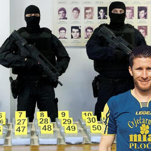 Zaplijenjeni kokain, Anđelko Oršulić, Oliver Čokara