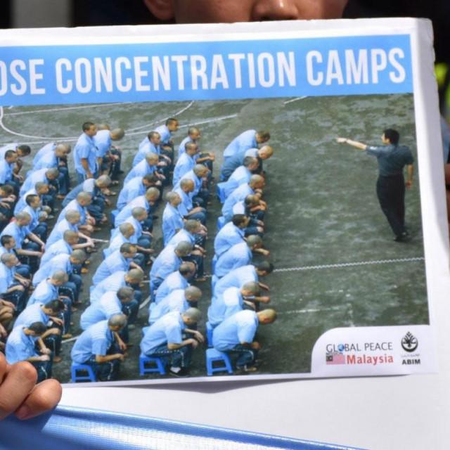 Ujguri, kamp
