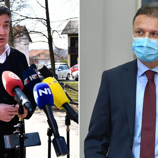 Zoran Milanović i Gordan Jandroković