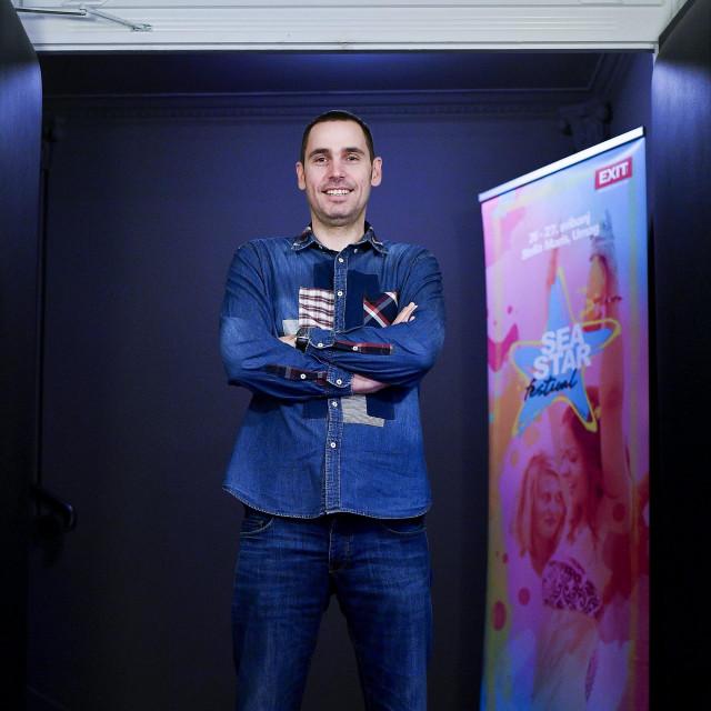 Direktor novosadskog festivala EXIT i umaškog Sea star festivala Dušan Kovačević
