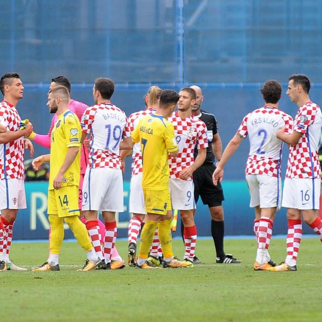 Kosovo je u duelima protiv Hrvatske imao status države jer ga je RH priznala