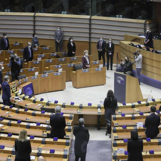 Minuta šutnje u EP za ubijenog veleposlanika