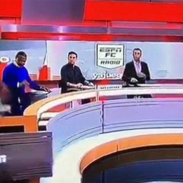 Incident u TV studiju