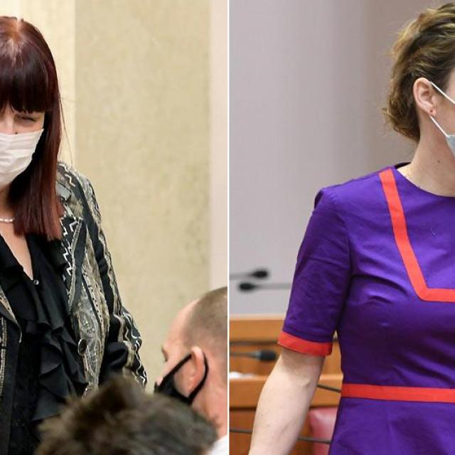 Maja Grba Vujević i Marija Selak Raspudić