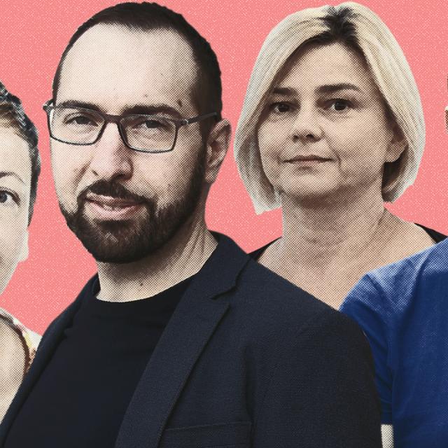 Daniela Dolenec, Tomislav Tomašević, Sandra Benčić i Teodor Celakoski