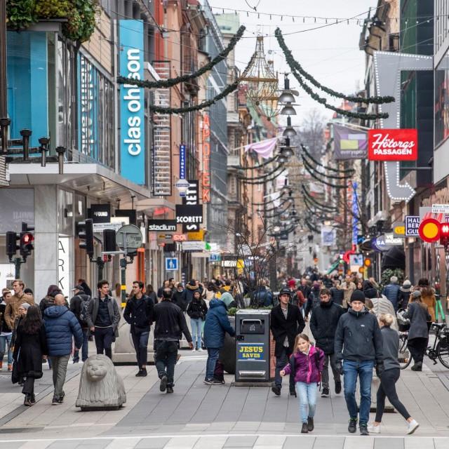 Stockholm sredinom studenog 2020. godine