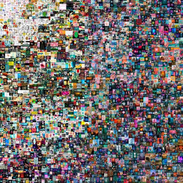 Digitalno djelo umjetnika Beeplea