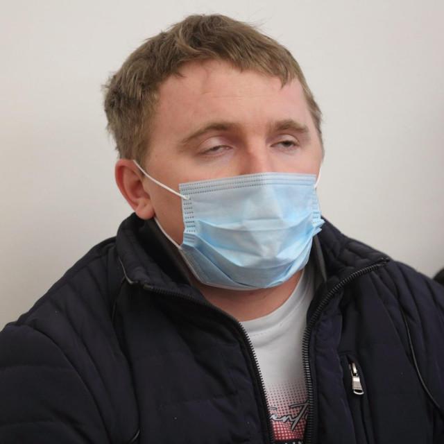 Ivan Mikuljan na početku suđenja u veljači