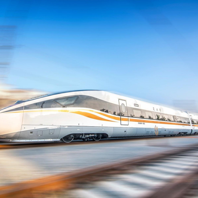 Brz vlak 'Fuxing' koji vozi na liniji Peking - Šangaj