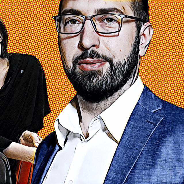 Urška Raukar i Tomislav Tomašević