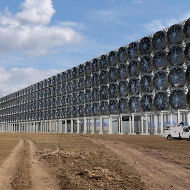 """Postrojenje za """"hvatanje"""" CO2 iz zraka"""
