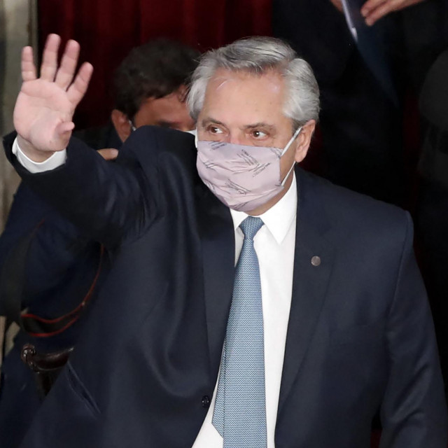 Predsjednik Argentine Alberto Fernandez