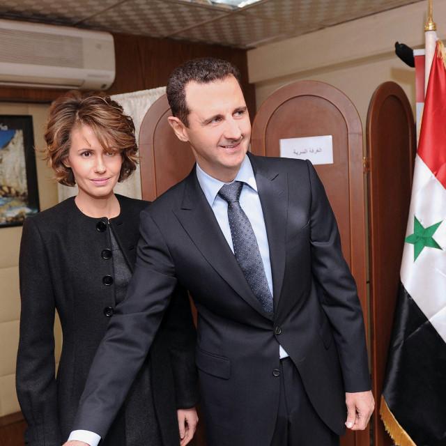 Bašar al-Asad u društvu svoje supruge Asme