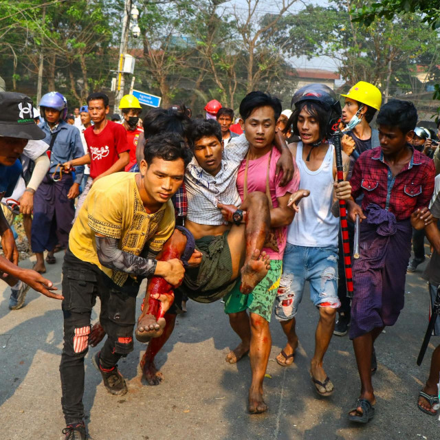 Prizori iz Mjanmara