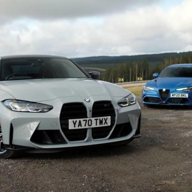 BMW M3 vs. Alfa Romeo Gulia Quadrifoglio