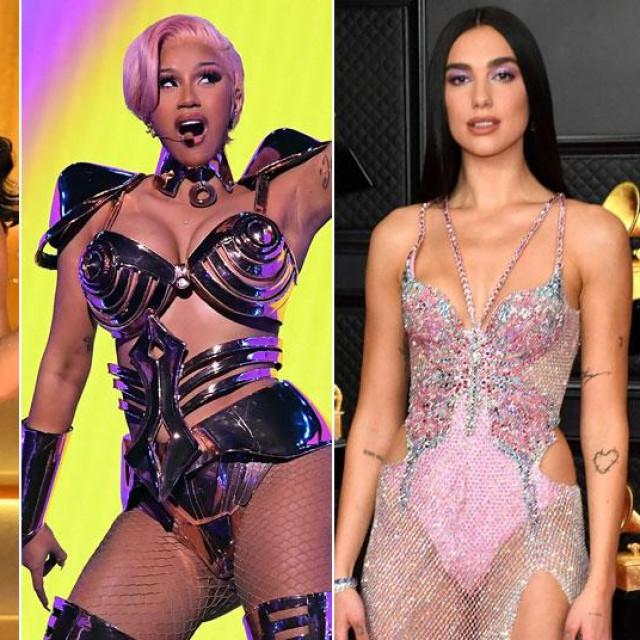Megan Thee Stallion, Cardi B, Dua Lipa i Beyonce