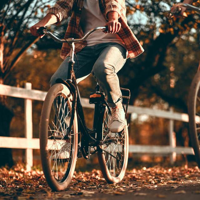 Najbolje u vožnji bicikla je to što je zabavna