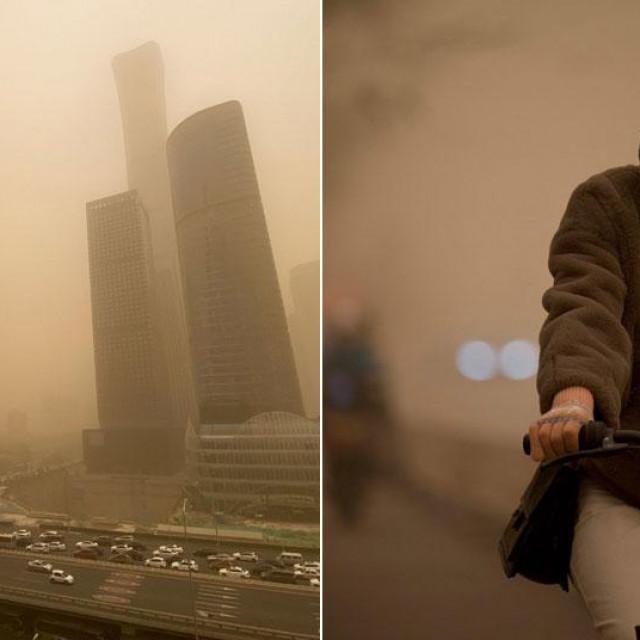 Pješčana oluja u Pekingu
