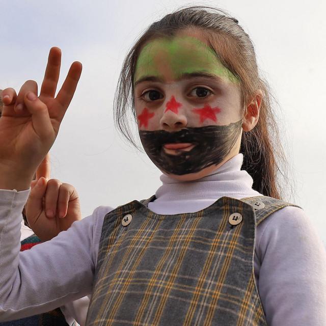 Sirijske djevojčice
