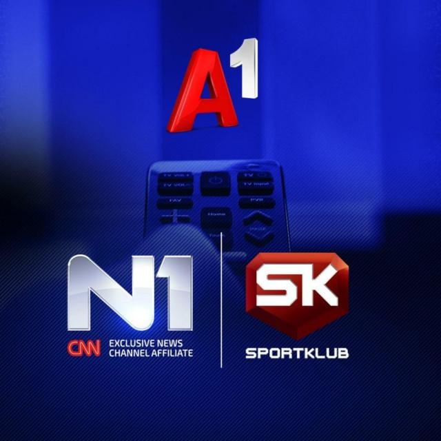 N1, Sport Klub, A1 / Ilustracija