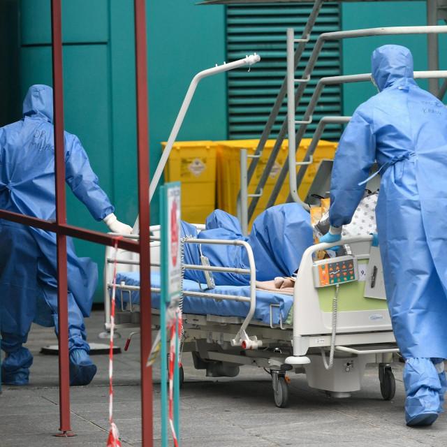 Covid bolnica u Dubravi (ilustracija)
