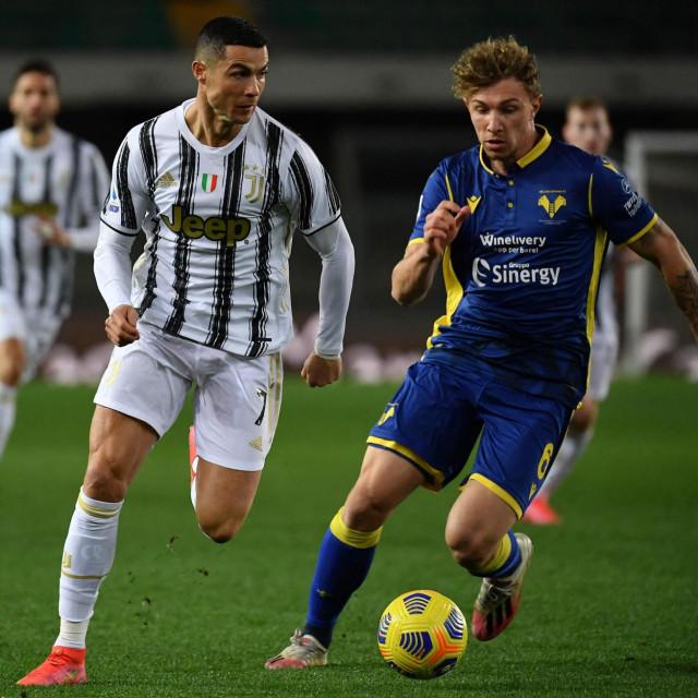 Jurićeva Verona nedavno je zaustavila i Ronaldov Juventus