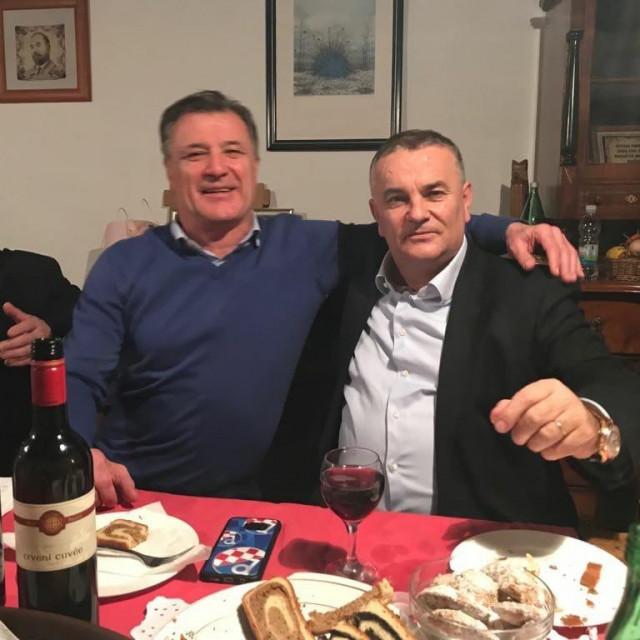Zvonko Vekić, Zdravko Mamić i Drago Tadić