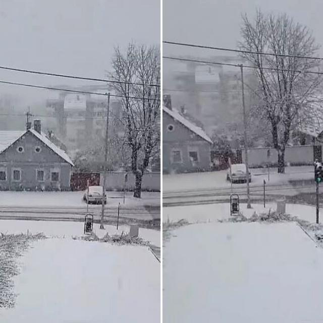 Snijeg u Orahovici