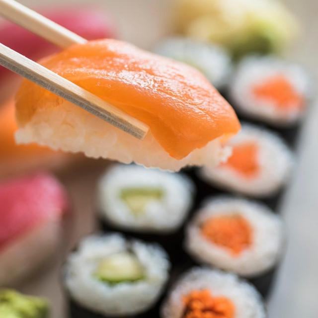 Sushi; ilustracija