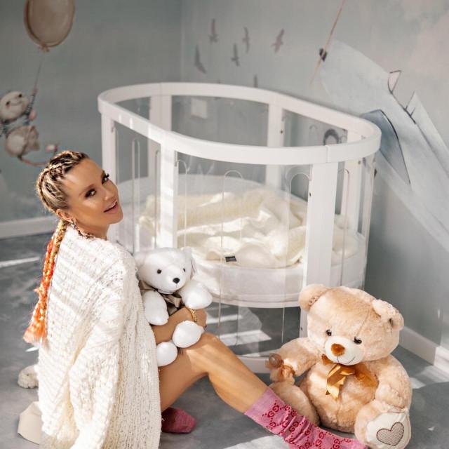 Maja Šuput, trudnoća (Privatna arhiva, sa dozvolom za objavu)