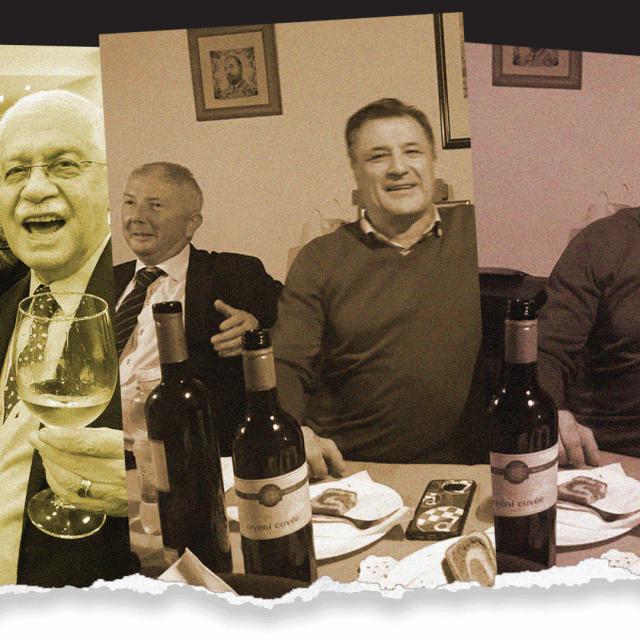 Darko Krušlin i Adolf Kožul, Zoran Vekić i Zdravko Mamić, Zdravko Mamić i Drago Tadić