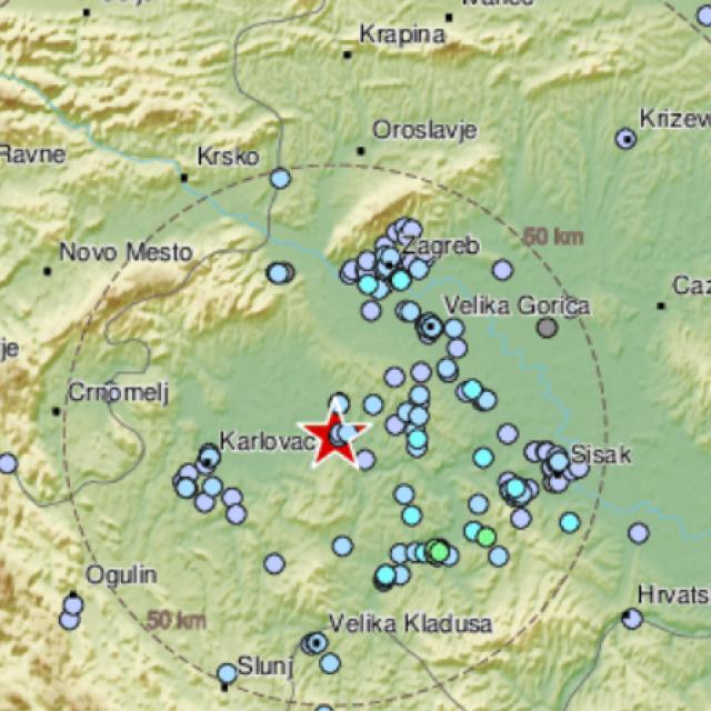 Potres kod Karlovca