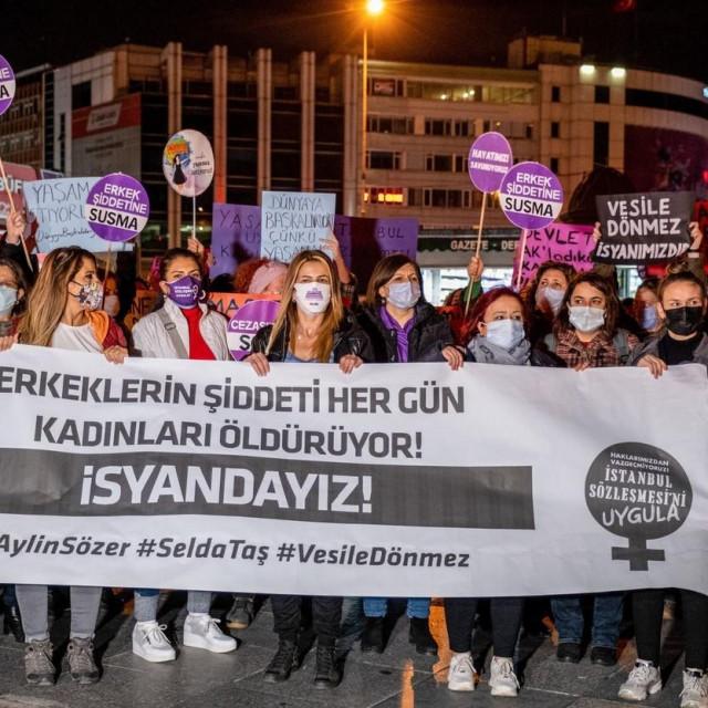 Istanbul, prosvjedi u prosincu 2020.
