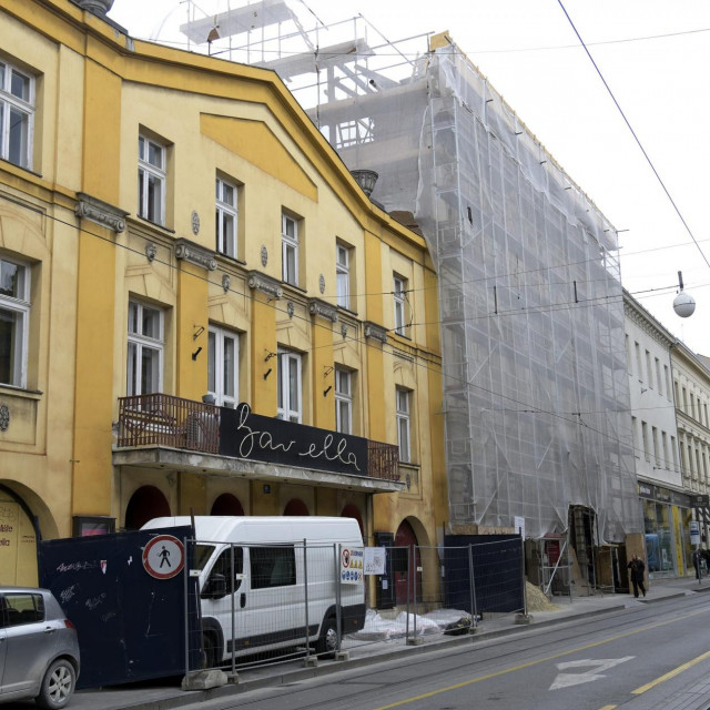 Kazaliste Gavella obnavlja se od potresa.<br />