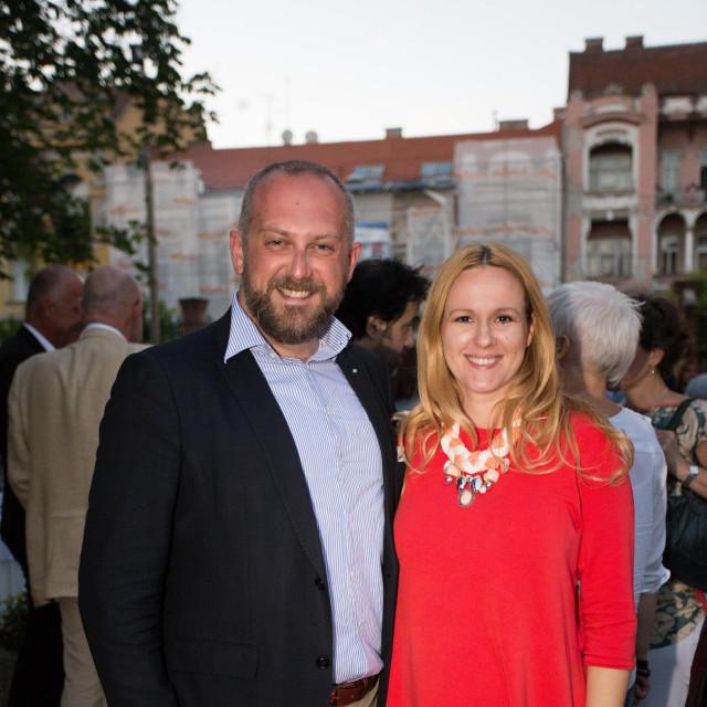 Vladimir Ham i supruga Ivana