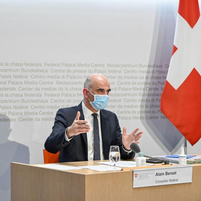 Švicarski ministar zdravstva Alain Berset
