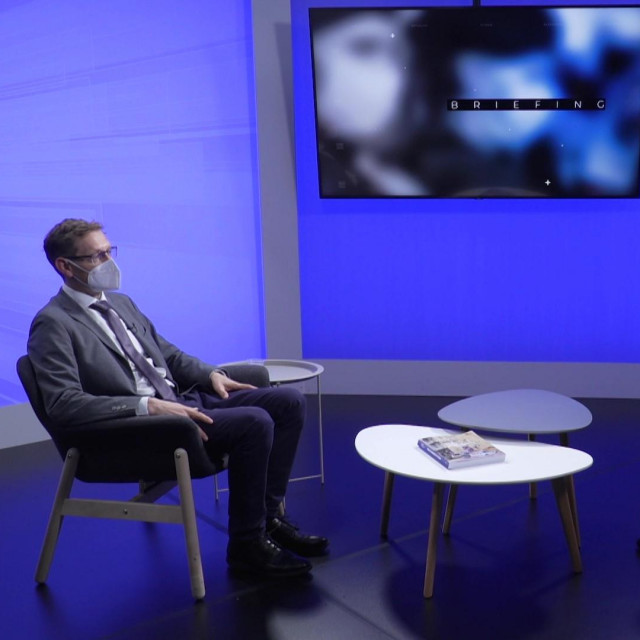 Dragan Damjanović u emisiji 'Briefing' Borisa Orešića