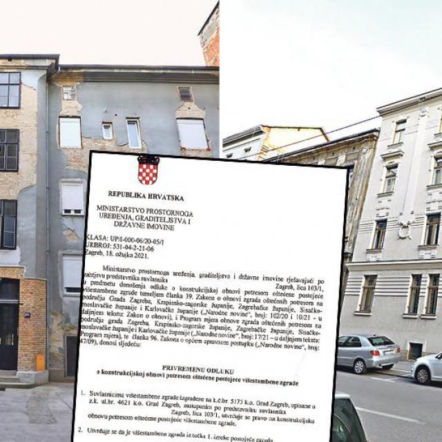 Zgrada u Ilici i zgrada u Đorđićevoj ulici