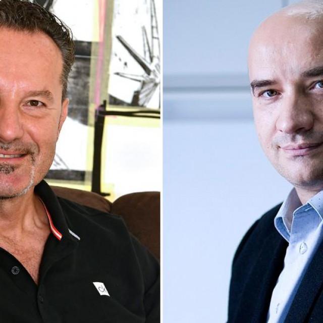 Igor Štagljar i Gordan Lauc