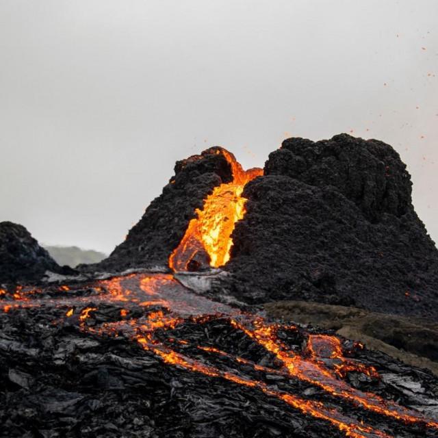 Erupcija vulkana Fagradalsfjall