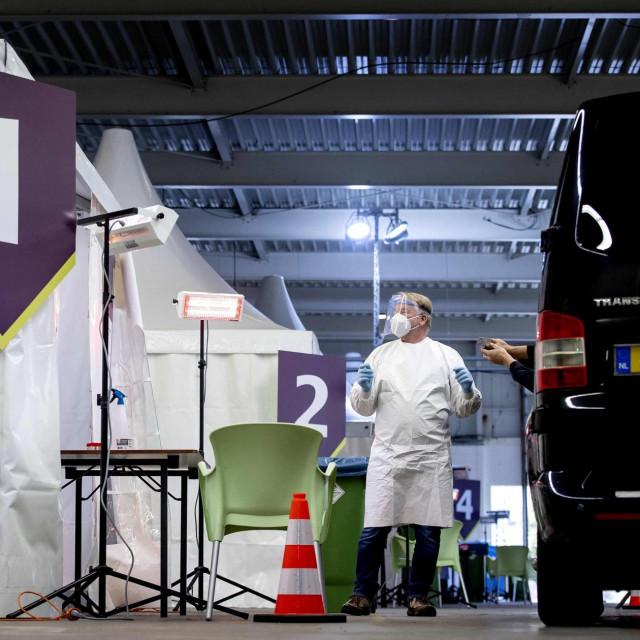 Centar za testiranje u Bovenkarspelu u NIzozemskoj
