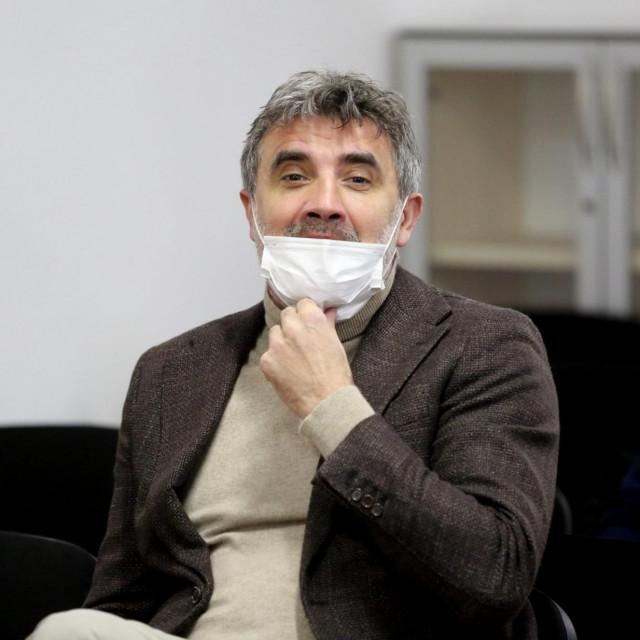 Zoran Mamić u sudnici