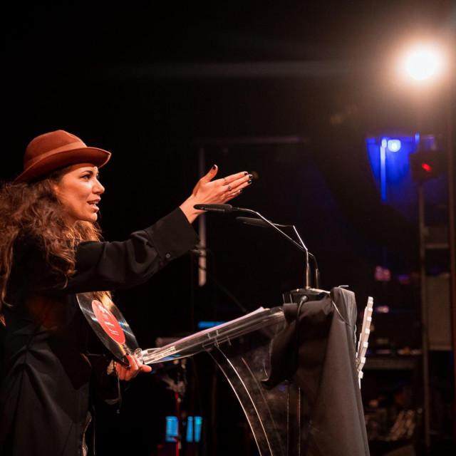Aklea Neon na dodjeli nagrade Ambasador